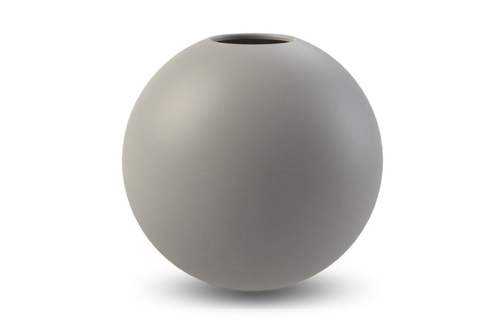 Cooee Design Ball Vase Grey 30 cm