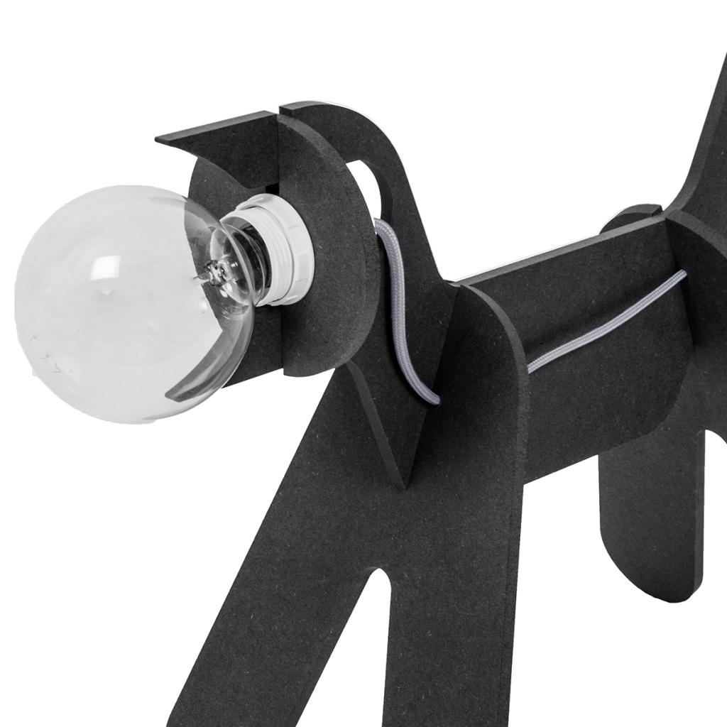 eno Studio Dog lamp Black