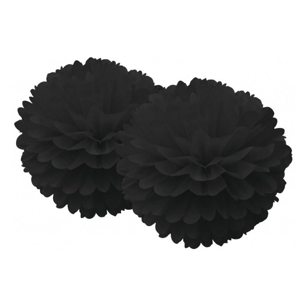 Pom Pom 2-set Black