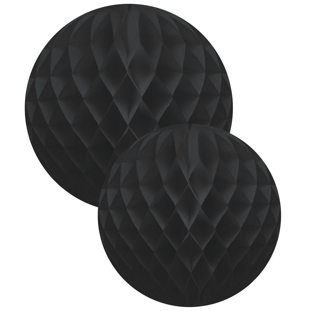 Honeycomb ball  2-set Black