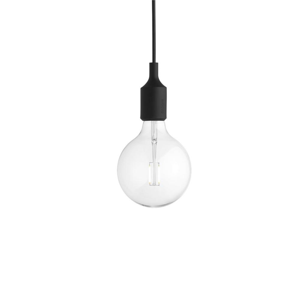 Muuto LED lampa E27 Black
