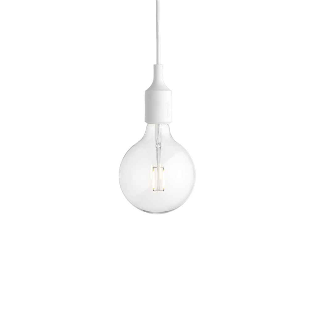 Muuto LED lampa E27 White