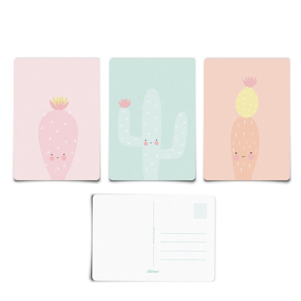 EEF Lillemor Postcard-E 3-pack
