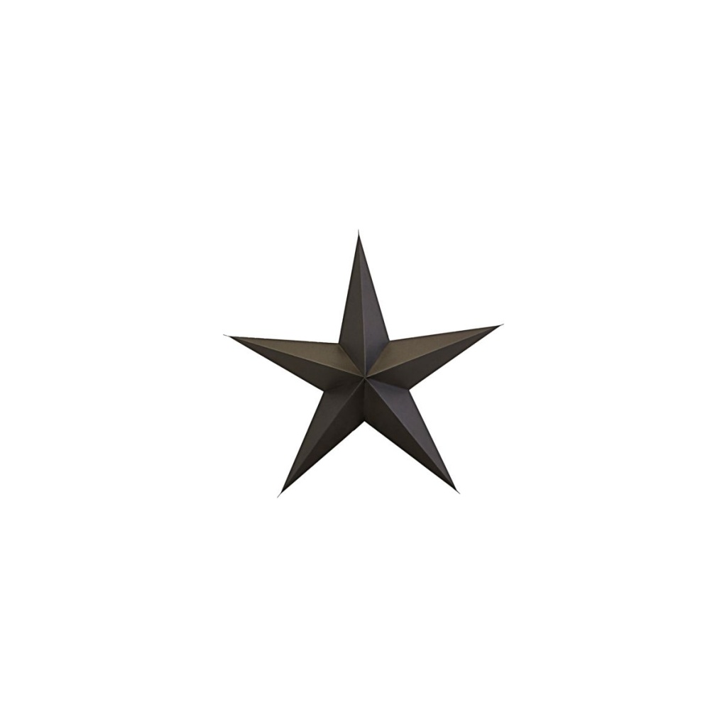House Doctor Ornament Star Brown 25cm 2-pack