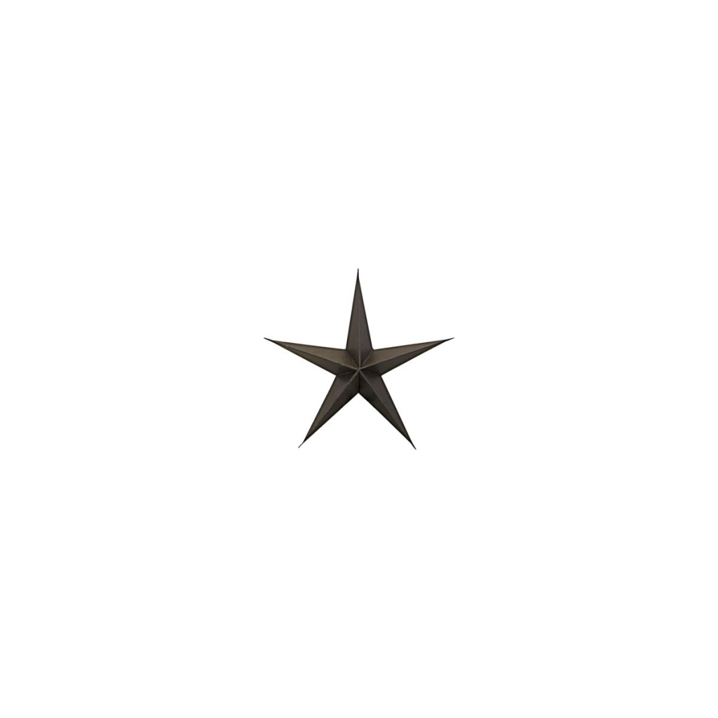 House Doctor Ornament Star Brown 15cm 3-p