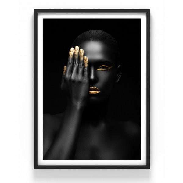 Poster 50x70 cm Goldfinger
