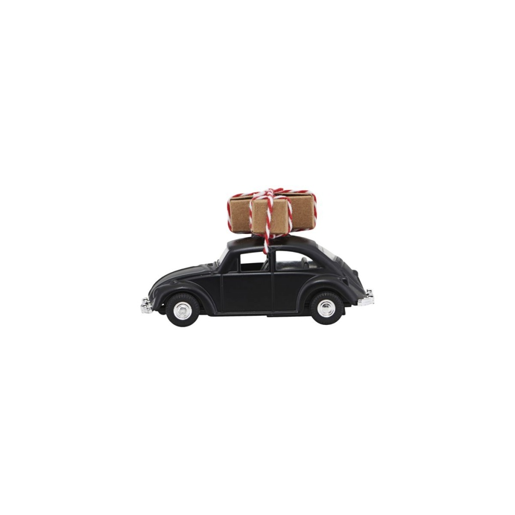 House Doctor Dekoration XMAS Car Mini Black