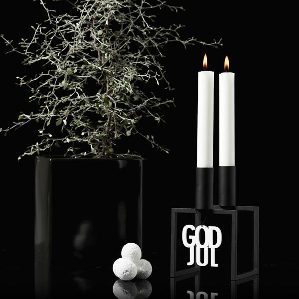 Felius Design Hänge GOD JUL Vit 2-pack
