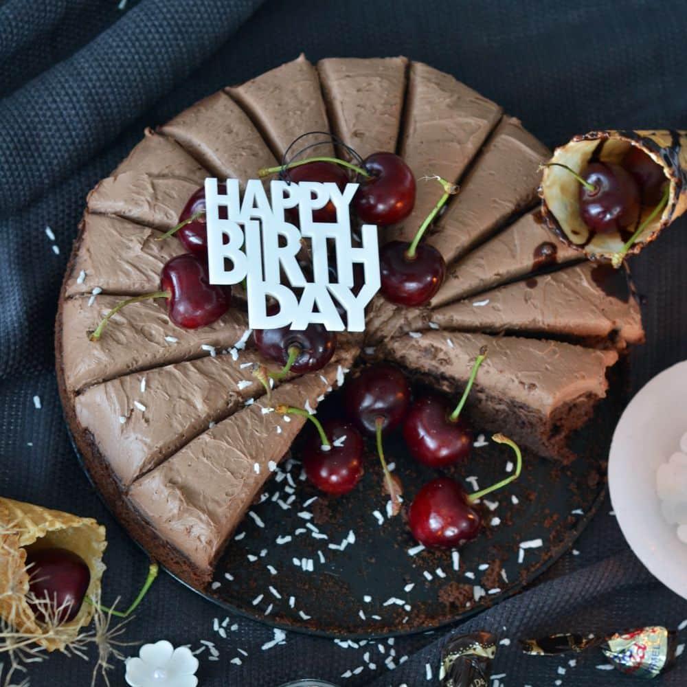 Felius Design Dekoration Happy Birthday 2-pack Vit