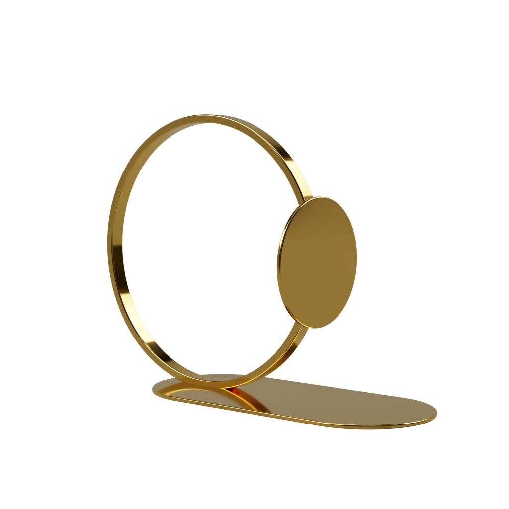 Cooee Design Book Ring 15cm Brass