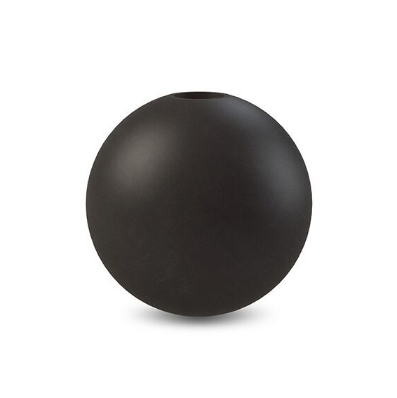 Cooee Design Candlestick Ball 10 cm Black