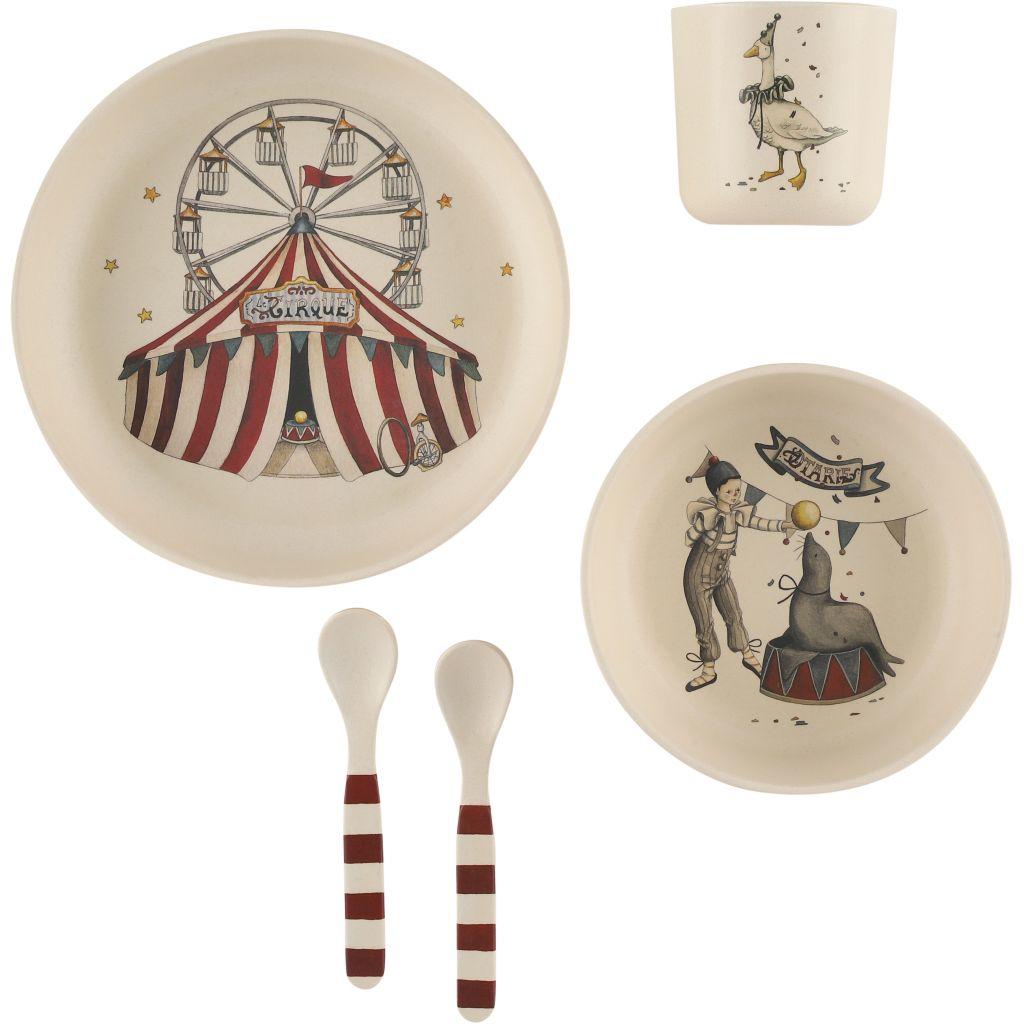 Konges Sløjd Circus Dinner Set
