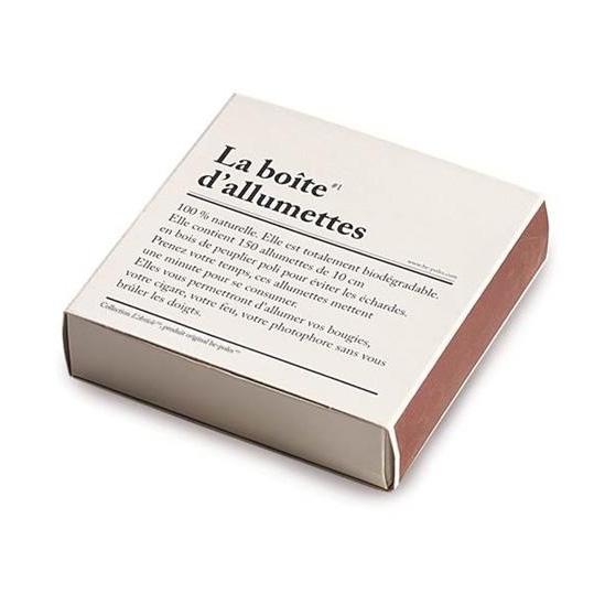 Le Studio be-poles La Boite d' Alumettes Tändstickor