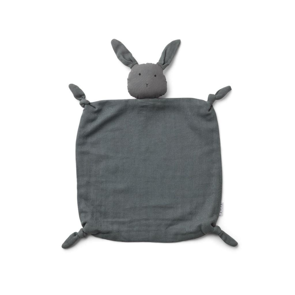 Liewood Agnete Snuttefilt Rabbit Stone Grey