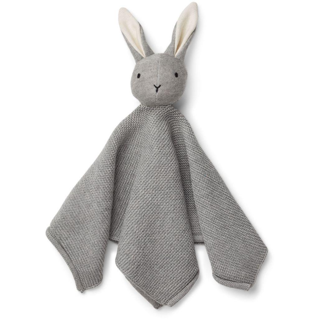 Liewood Milo Snuttefilt Rabbit grey melange