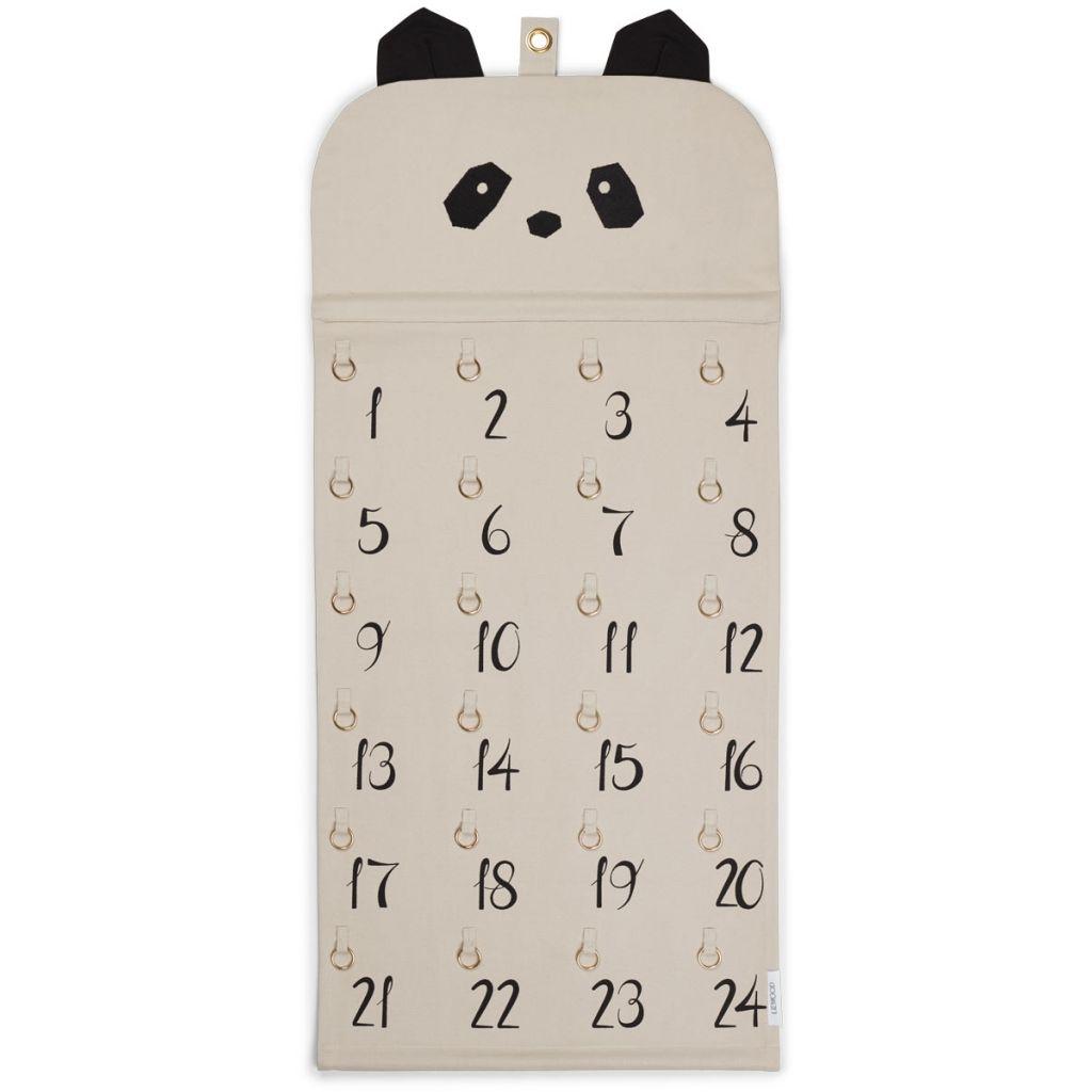 Liewood Julia Julkalender Panda Beige Beauty