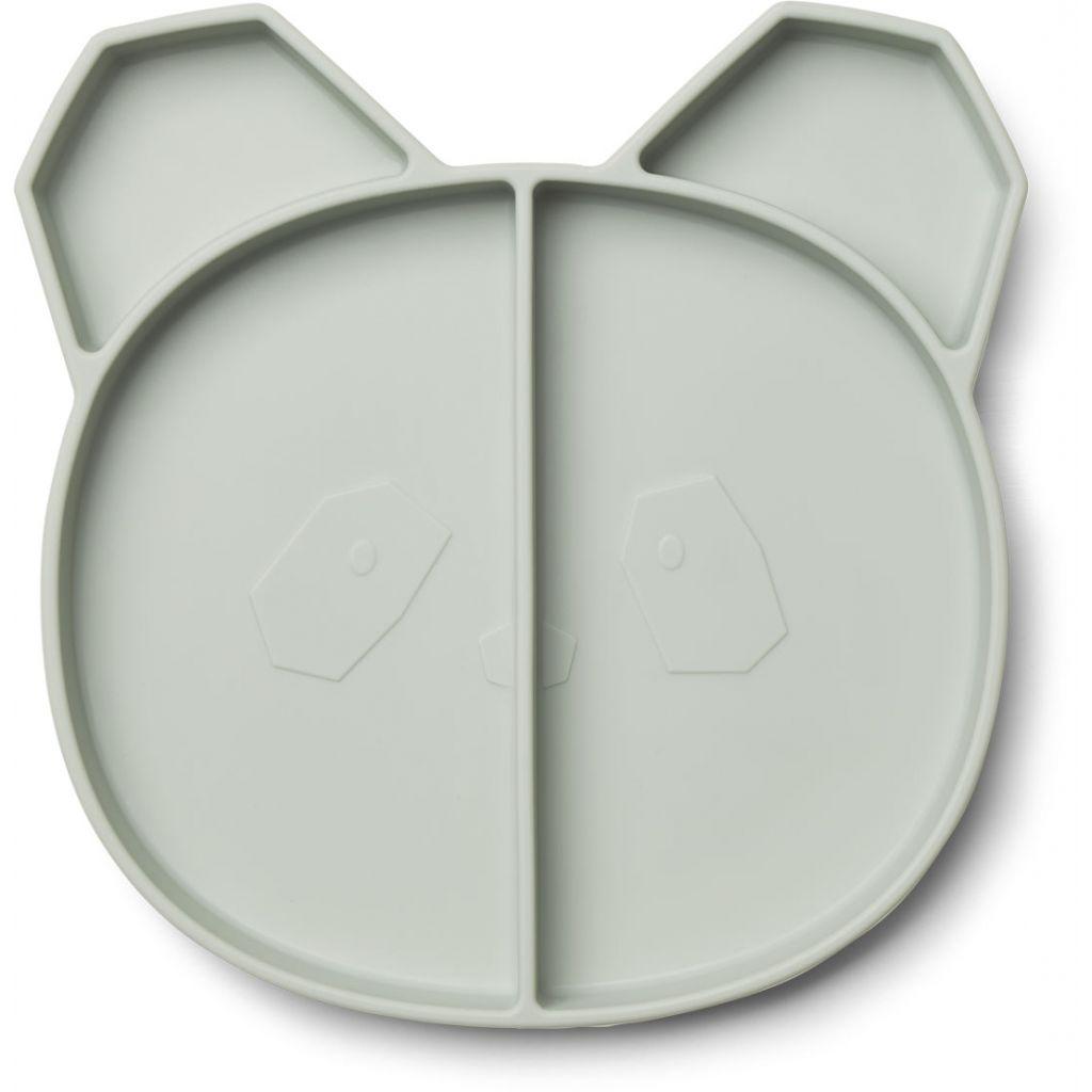 Liewood Maddox Multi Plate Panda Dusty Mint