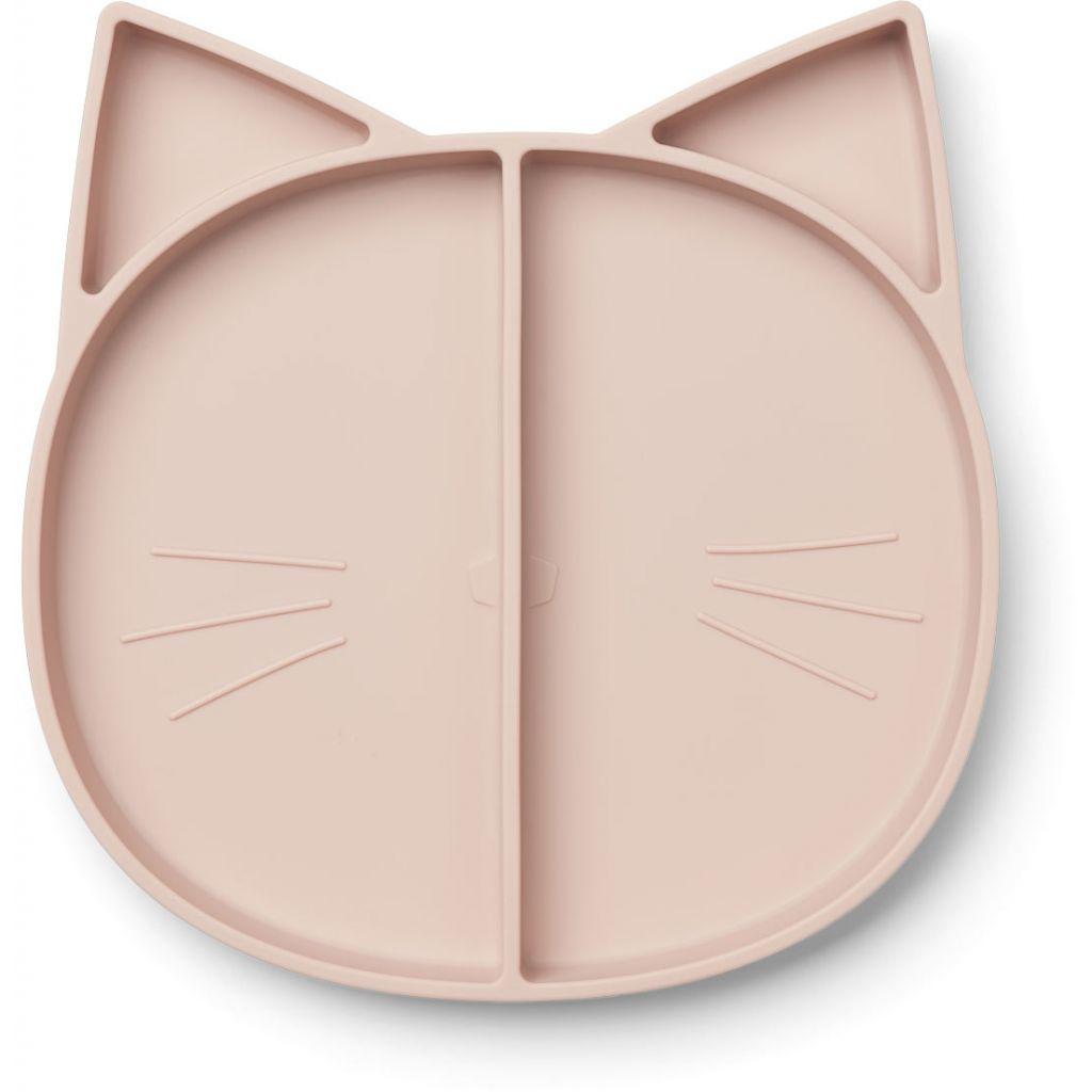Liewood Maddox Multi Plate Cat Rose
