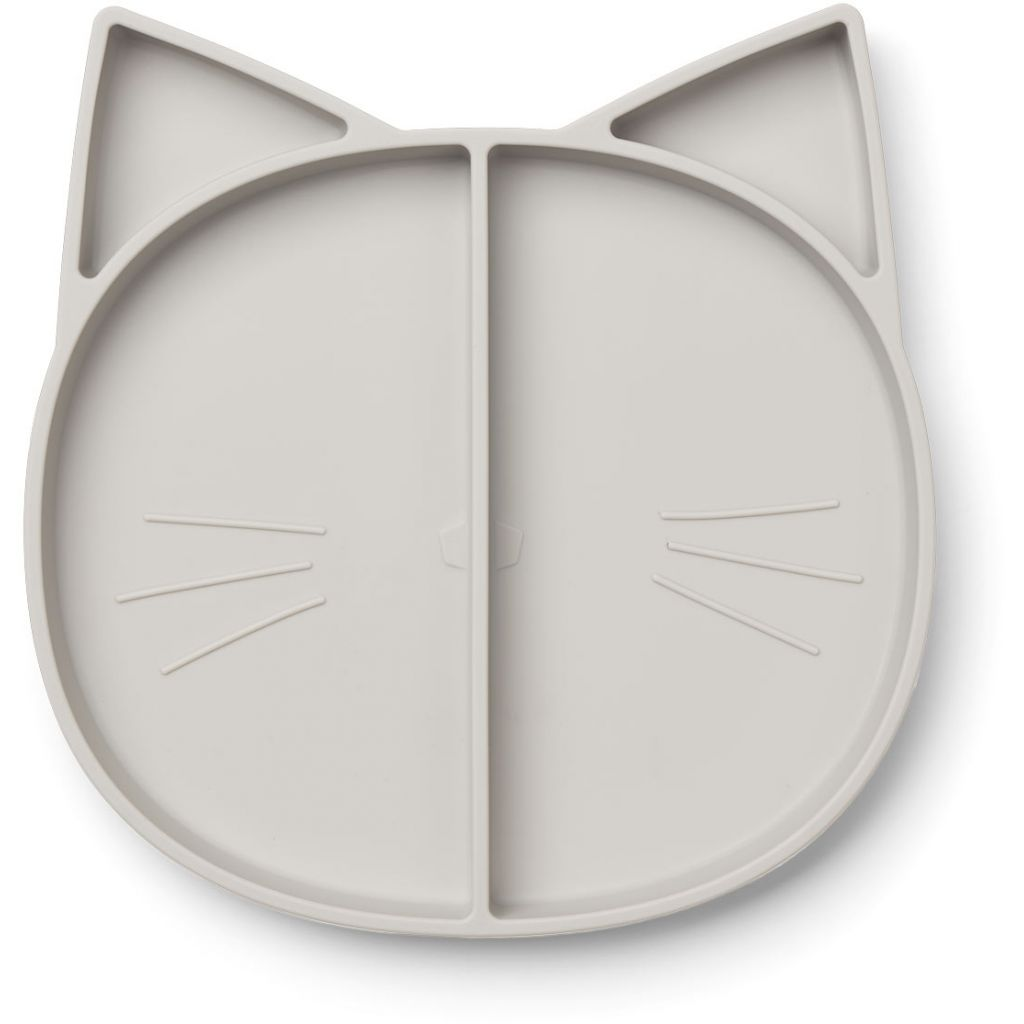 Liewood Maddox Multi Plate Cat Dubo Grey