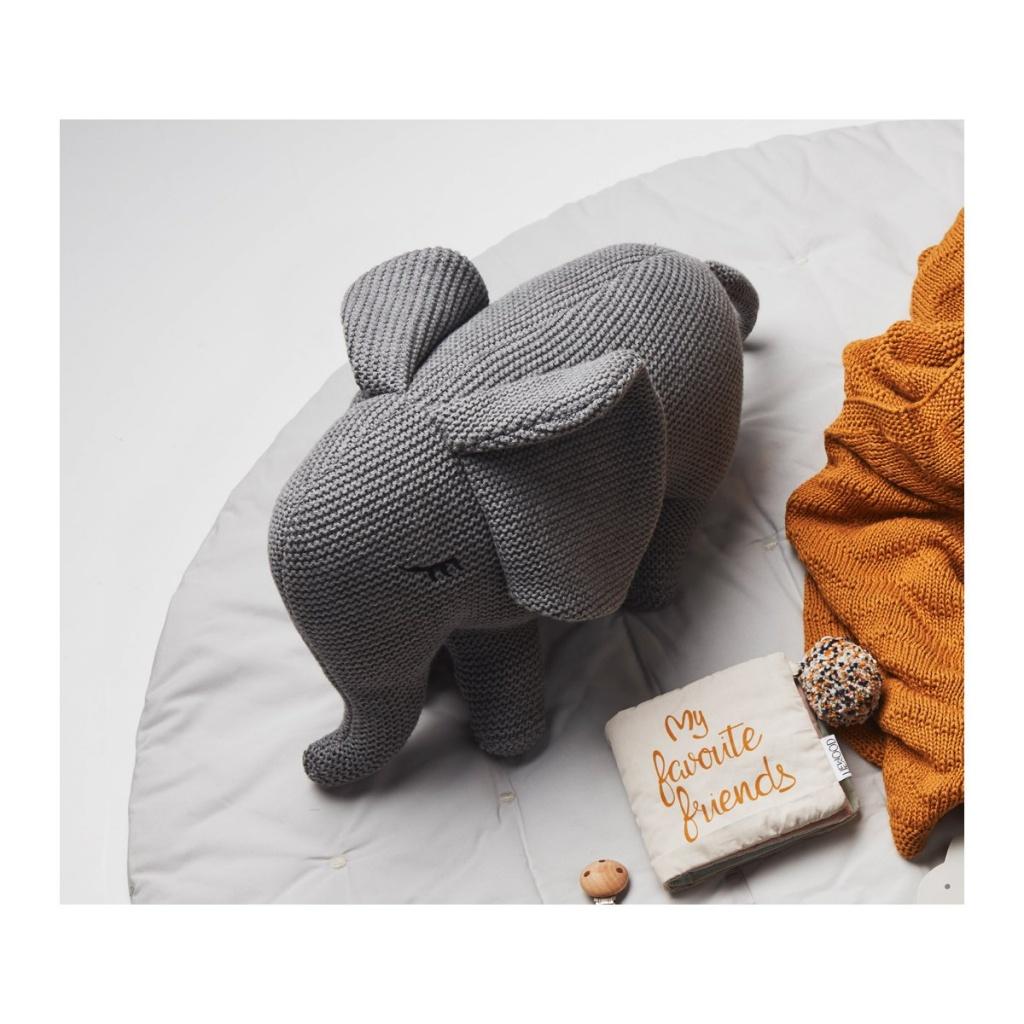 Liewood Dextor Knit Teddy Elephant Rose 5bf45b3bf99d4
