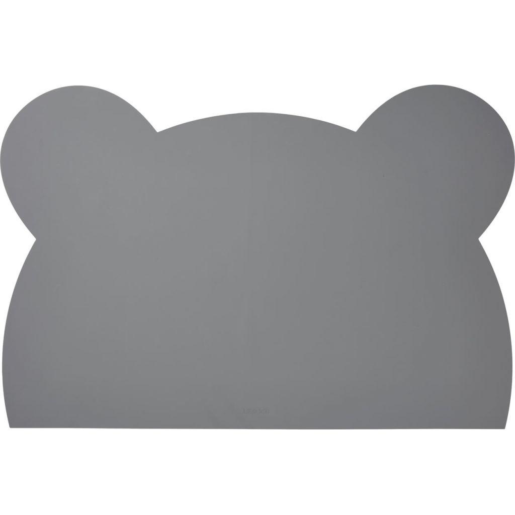 Liewood Skrivbordsunderlägg Silikon Mr Bear Grey