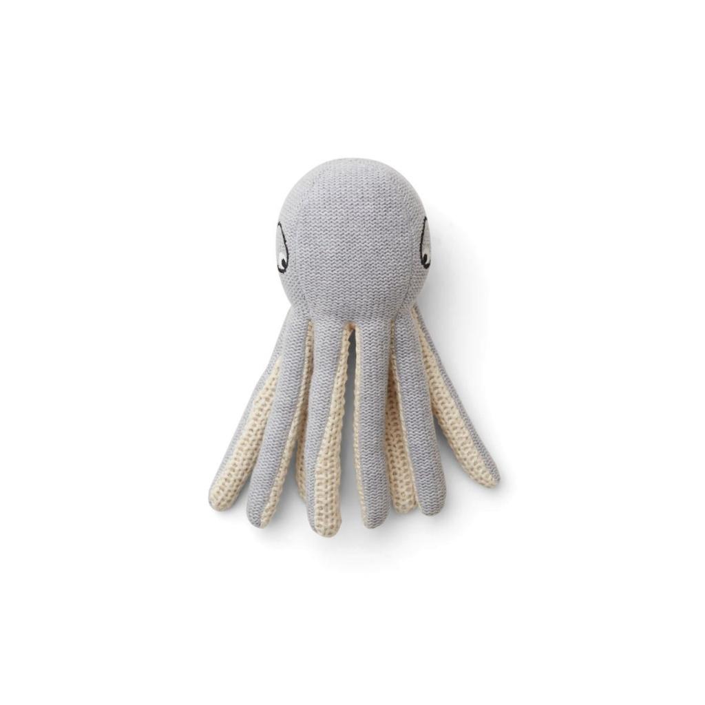 Liewood Ole Teddy Mini Octopus Grey Melange