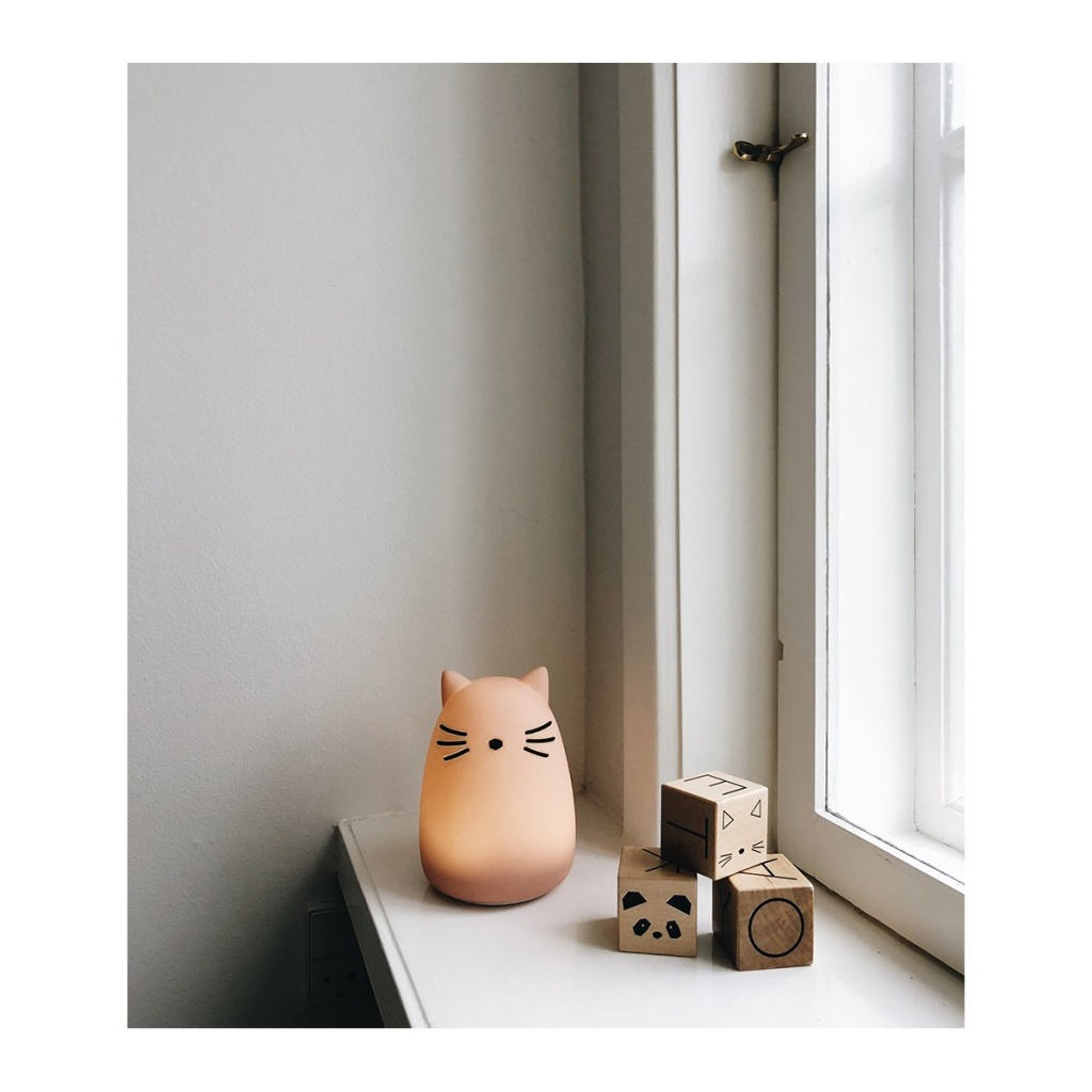 Liewood Winston Nattlampa Cat Rose