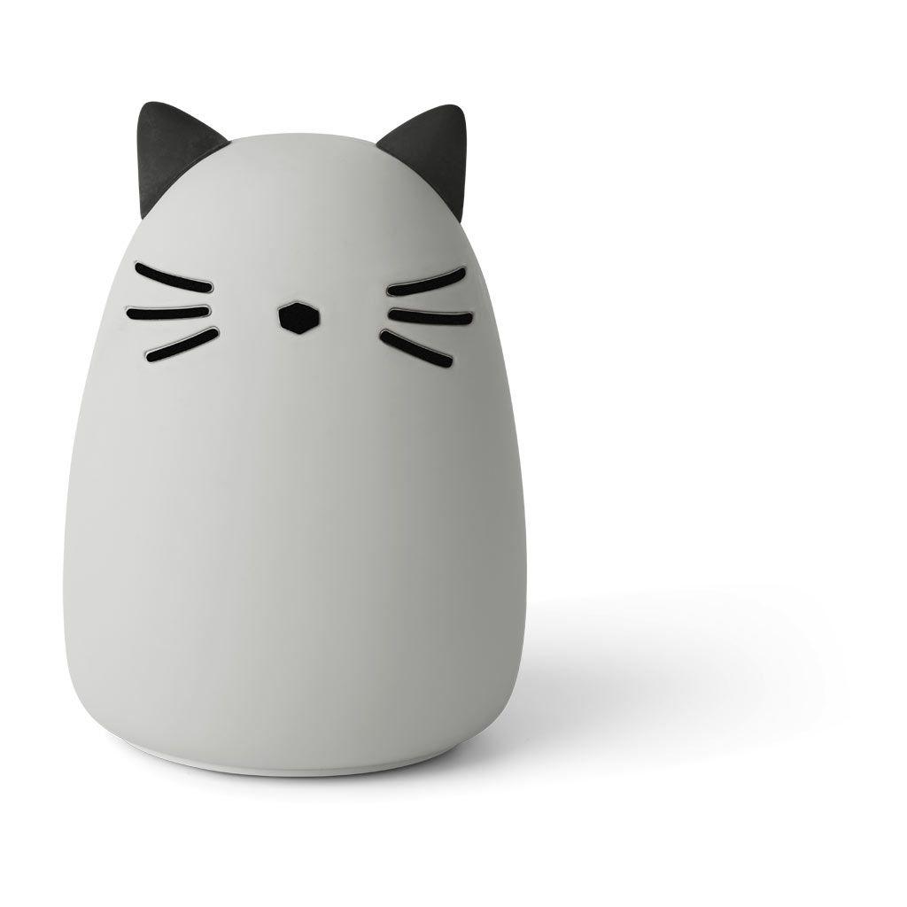 Liewood Winston Nattlampa cat Dumbo Grey