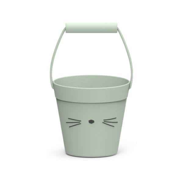 Liewood Hink 100% Silikon Cat Dusty Mint