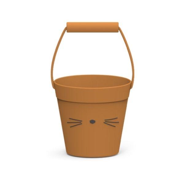 Liewood Hink 100% Silikon Cat Mustard