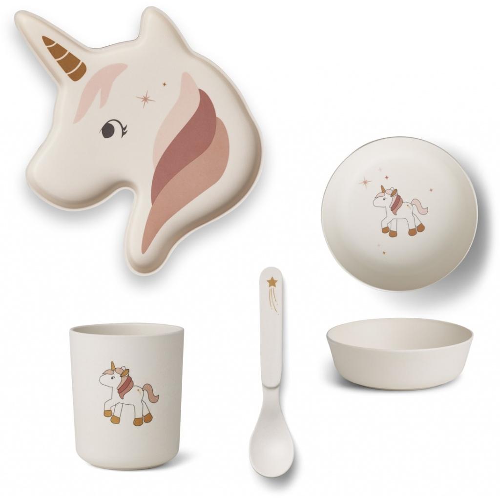 Liewood Unicorn Elin Bamboo Box - Limited Edition