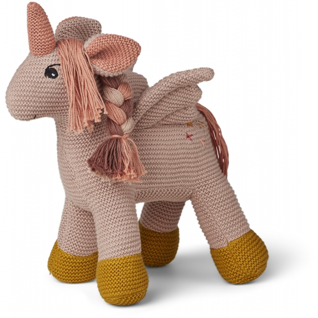 Liewood Unicorn Adiana Knitted Teddy Sorbet Rose - Limited Edition