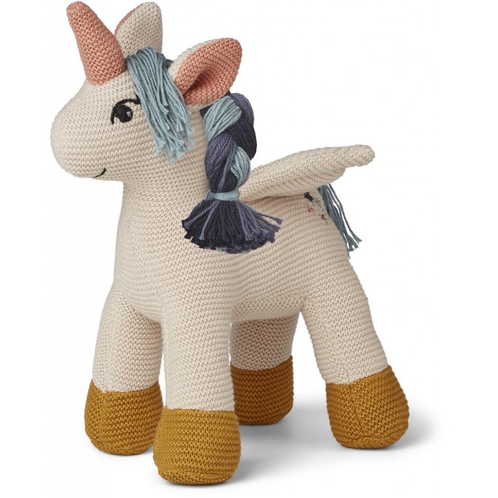 Liewood Unicorn Adiana Knitted Teddy Sandy - Limited Edition