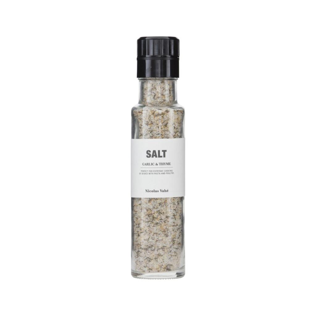 Nicolas Vahé Kryddkvarn Salt Garlic & Thyme