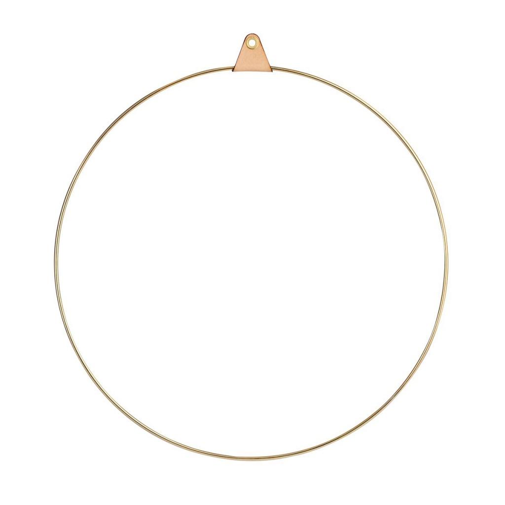 Strups Ring 33 cm Brass