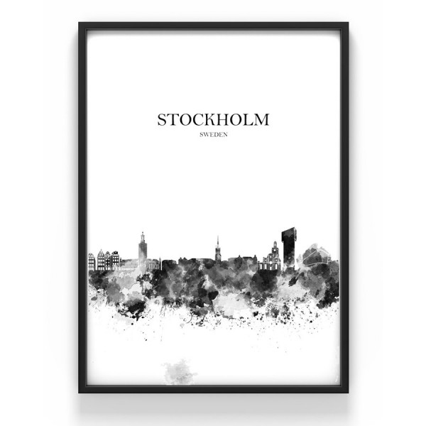Poster 50x70 cm Stockholm 1