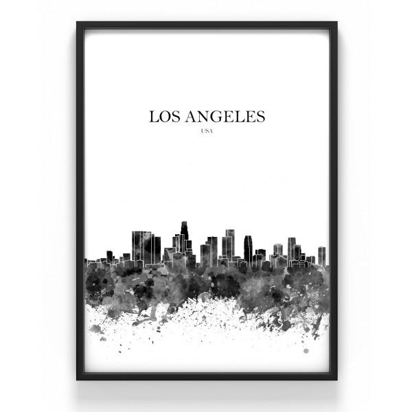 Poster 50x70 cm Los Angeles