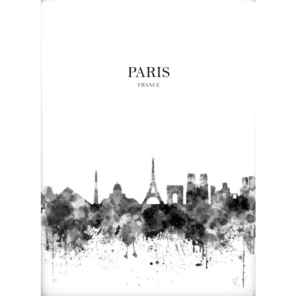 Poster 50x70 cm Paris