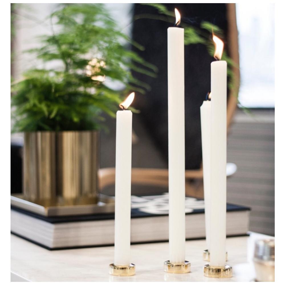 Solstickan design Ljushållare Mässing