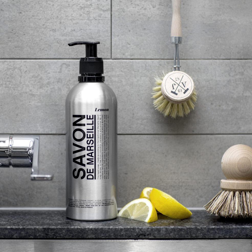 Savon De Marsielle @Home Flytandetvål Lemon Aluminium Flaska 500 ml