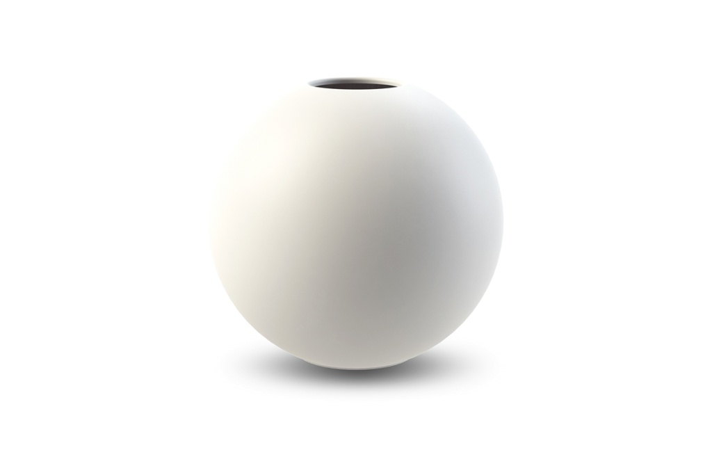 Cooee Design Ball Vase White