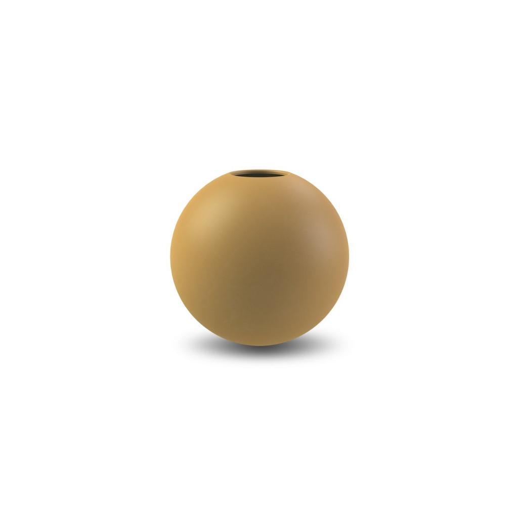 Cooee Design Ball Vase Ochre
