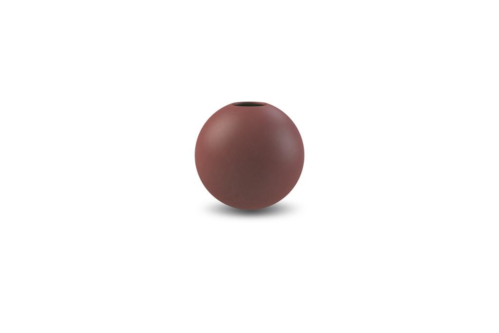Cooee Design Ball Vase Plum
