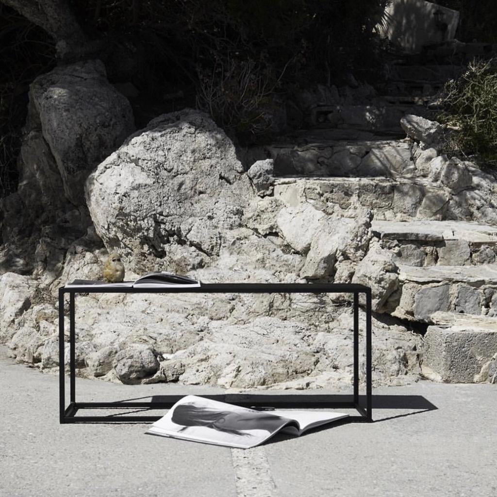 Design Of Bench Outdoor Black