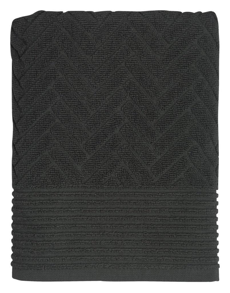 Mette Ditmer Brick Handduk 70x133 cm Anthracite