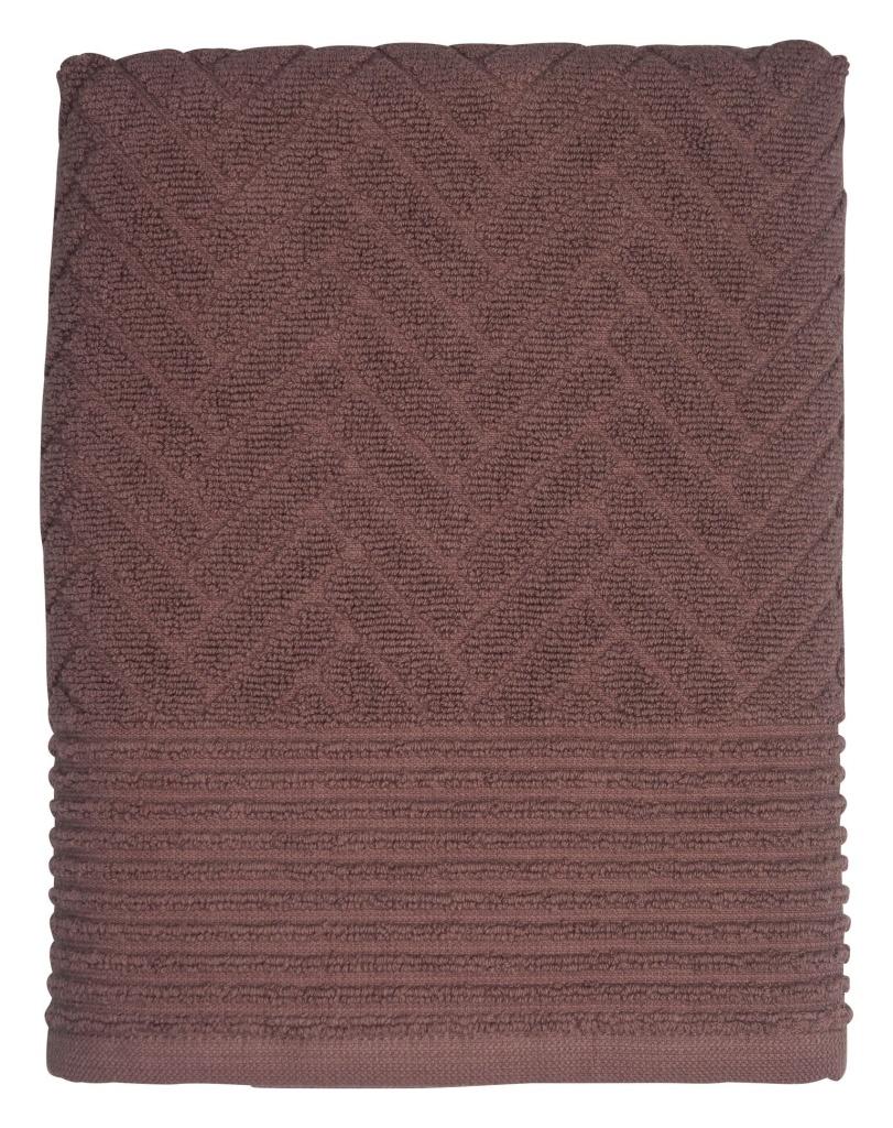 Mette Ditmer Brick Handduk 70x133 cm Mauve
