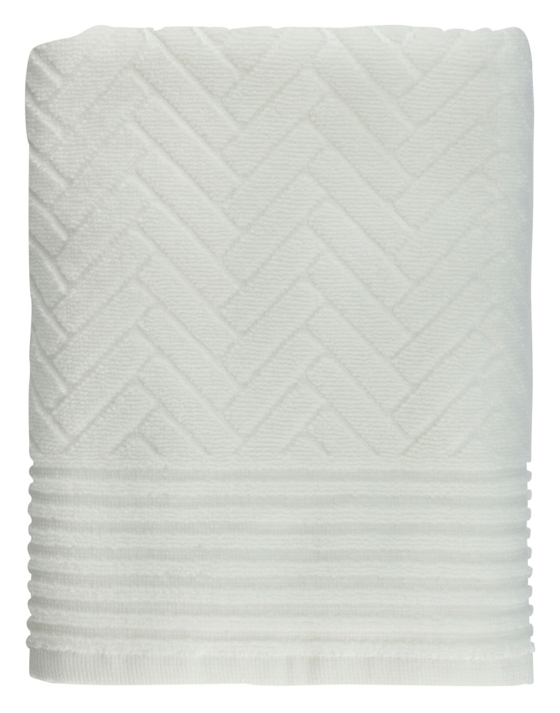 Mette Ditmer Brick Gästhandduk 35x55 cm Off-White 2-pack