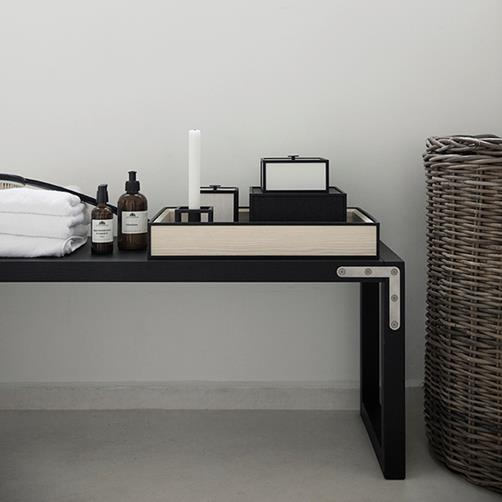 By Lassen Frame Tray Black stained ash 45 cm