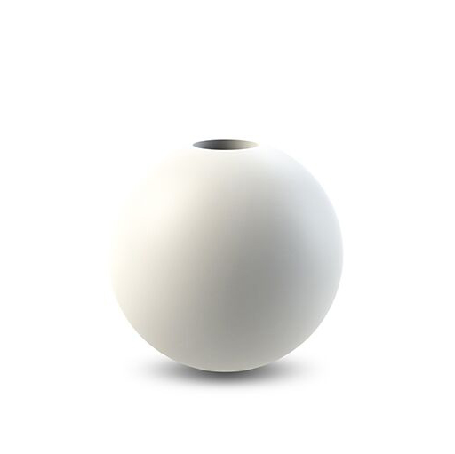 Cooee Design Candlestick Ball 10 cm White