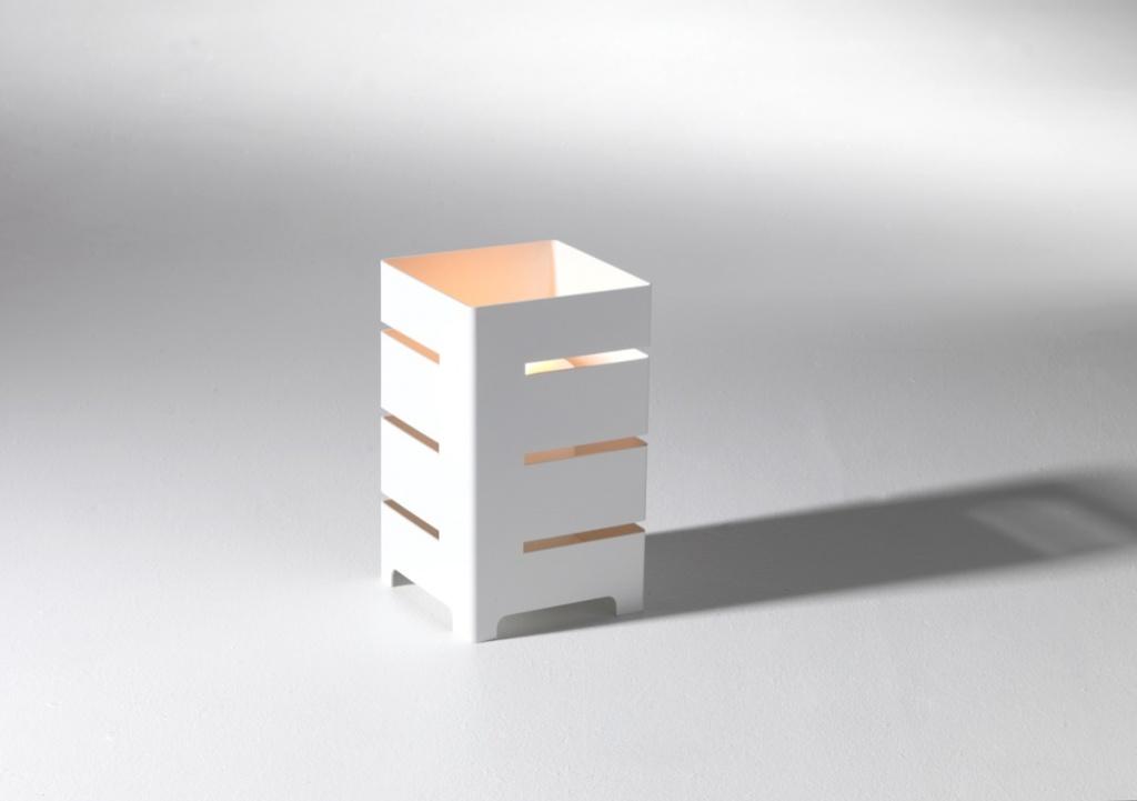 SMD design Clara Ljuslykta Vit